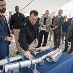 CNO Hosts All Hands Call - Tours Navy Electric Weapon, Cyber Warfare Engineering Facilities