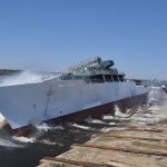 Chief of Naval Operations Tours Newest Oceanographic Survey Ship USNS Maury