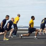 Countdown Begins for Physical Readiness Test