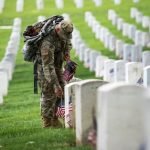 Old Guard Honors Fallen with 'Flags-In' Tradition