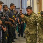 Army Military Police School Hosts Academy to Encourage Students' Pursuit of Law Enforcement Career