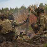 U.S., British Forces Showcase Skills in Estonia