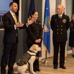 Bush Service Dog Joins Ranks at Walter Reed