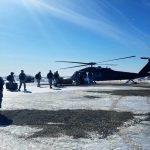 Senior US Military Officials Tour the Arctic