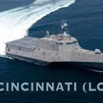 Navy to Commission Littoral Combat Ship Cincinnati