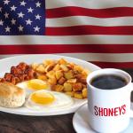 Shoney's Offers FREE Breakfast Bar for Military on Veterans Day