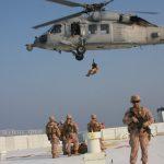 U.S. Marines Provide Security During Strait of Hormuz Transit