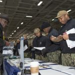 USS Dwight D. Eisenhower Sailors Get College Ready