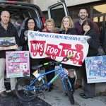 Naval Undersea Warfare Center Employees Spread Holiday Cheer Through Toys for Tots