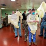 USNS Mercy Accepts First Patients in Los Angeles