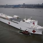 Troop Support Provides Essential Supplies to Floating Hospitals