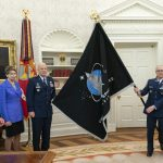 Space Force Flag Unveiled at White House