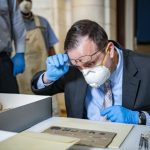 Century-Old Memorabilia Box Opened at Arlington Cemetery