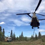 National Guard Airlifts 'Into the Wild' Bus Out of Alaska Wilderness