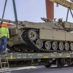 USMC RailOps Transports Tanks and Other Heavy Equipment to Army