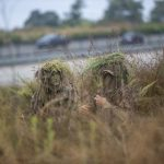 U.S. Marines with Scout Snipers Course Participate in Stalking Exercise