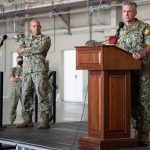 Admiral Visits Critical Naval Air Station in Italy