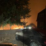 Kingsley Field Firefighters Save Local Homes From Catastrophic Fire