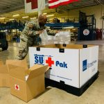 Air Force Partners in Medical Logistics to Support U.S.