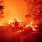 Marine Corp Firefighter Joins Battle During Record Fire Season