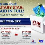MILITARY STAR Card Brings Joy with Annual Sweepstakes