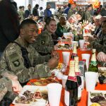 Thanksgiving Feed-the-Troops Tradition Continues Despite Virus