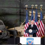 Pence Thanks Fort Drum Soldiers for Accomplishments, Sacrifices