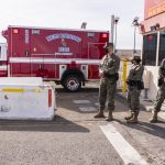 Military and Civilian Police Join Forces