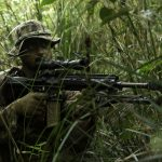 Marines Pitted Against Each Other in Jungle Warfare