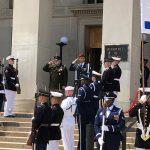 Chairman Meets Israeli Counterpart at Pentagon