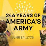 U.S. Army's 246th Birthday